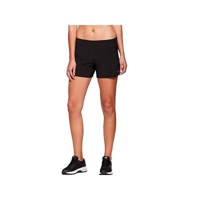 """アシックス Fietro 4"""""""" Shorts レディース ショートパンツ ズボン 半ズボン Black"""