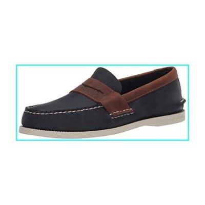 Sperry Men's Authentic Original Penny Boat Shoe, Navy/Sonora, 8.5 M US