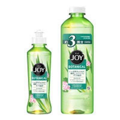 P&Gジョイ ボタニカル レモングラス&ゼラニウム 本体(190ml)+詰め替え(440ml) 1セット 食器用洗剤 P&G