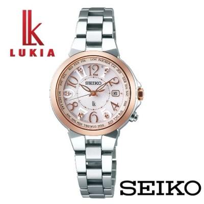 【正規販売店】SEIKO LUKIA/セイコー ルキアSSQV004 ラッキーパスポート チタン 1B25 ソーラー電波修正 腕時計 レディース