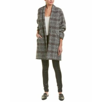 Plaid  ファッション 衣類 Isabel Marant Plaid Wool-Blend Coat
