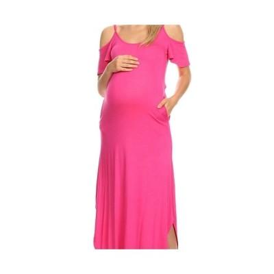 ホワイトマーク ワンピース トップス レディース Maternity Lexi Maxi Dress Fuchsia