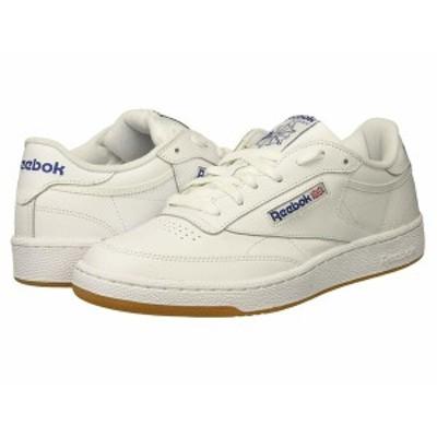 リーボック メンズ スニーカー シューズ Club C 85 Int/White/Royal/Gum