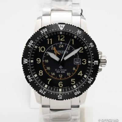 質イコー [シチズン] CITIZEN 腕時計 プロマスター BJ7094-59E ブラック エコ・ドライブ SS メンズ 新品