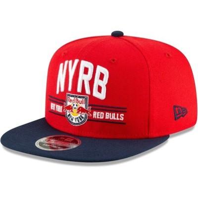 ニューエラ メンズ 帽子 アクセサリー New York Red Bulls New Era Satin Two-Tone 9FIFTY Snapback Adjustable Hat