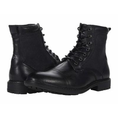 スティーブ マデン メンズ ブーツ・レインブーツ シューズ Bunsin Lace-Up Boot Black