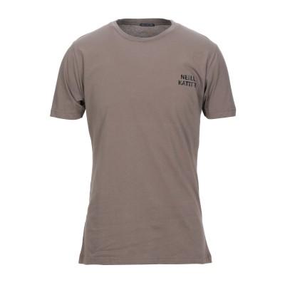 NEILL KATTER T シャツ ライトブラウン M コットン 100% T シャツ
