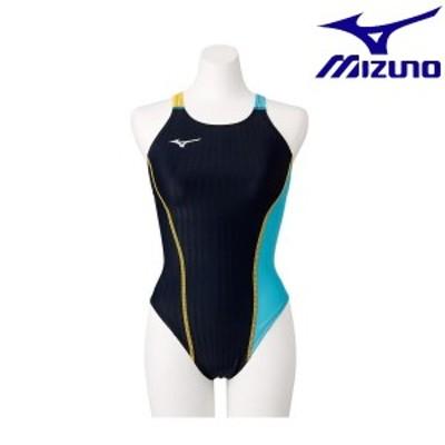 ◆◆送料無料 メール便発送 <ミズノ> MIZUNO エクサースーツ UP ミディアムカット(ウィメンズ) N2MA0760 (92)  水泳
