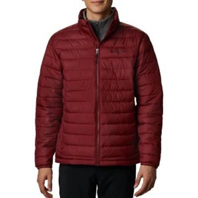 コロンビア メンズ ジャケット・ブルゾン アウター Columbia Men's Powder Lite Insulated Jacket Red Jasper