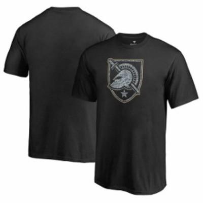 Fanatics Branded ファナティクス ブランド スポーツ用品  Fanatics Branded Army Black Knights Youth Black Static Logo T-Shirt