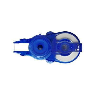 プラス 修正テープ ホワイパースライド ポップカラー 交換テープ 10個入 5mm ブルー BL WH-115R-10P
