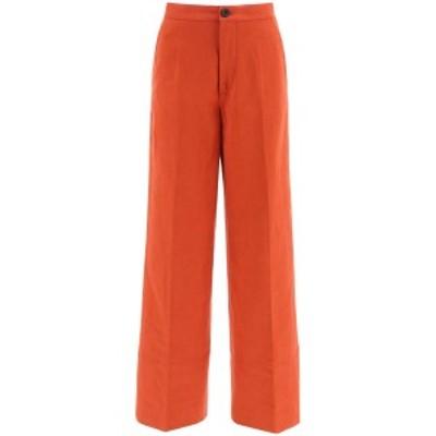 COLVILLE/コルヴィル フレアパンツ ORANGE Colville palazzo trousers レディース CVF20112B ik