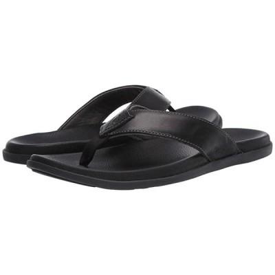 OluKai Nalukai Sandal メンズ サンダル Lava Rock/Lava Rock