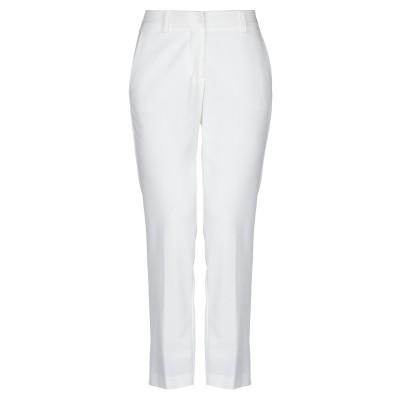HOPPER パンツ ホワイト 44 ポリエステル 70% / レーヨン 25% / ポリウレタン 5% パンツ