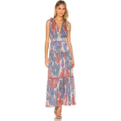 サビーナ ムサエフ Sabina Musayev レディース ワンピース ワンピース・ドレス Helena Dress Blue Bloom