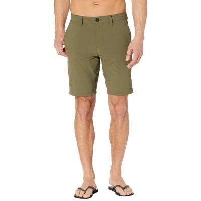 """ボルコム ハーフ&ショーツ ボトムス メンズ Bohnes 20"""" Hybrid Shorts Military"""