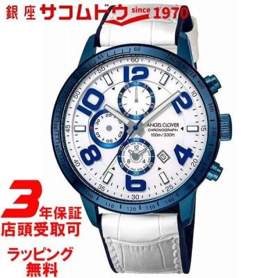 エンジェルクローバー Angel Clover 腕時計 LUCE クロノグラフ LU44BNV-WH メンズ