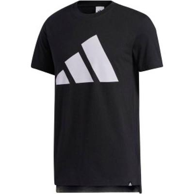 アディダス メンズ シャツ トップス adidas Men's Urban Pack Split T-Shirt Black/Purple Tint