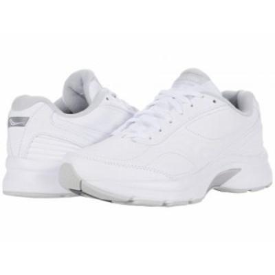 Saucony サッカニー レディース 女性用 シューズ 靴 スニーカー 運動靴 Omni Walker 3 White【送料無料】
