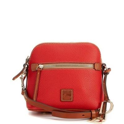 ドーネイアンドバーク レディース ショルダーバッグ バッグ Pebble Collection Leather Domed Crossbody Bag