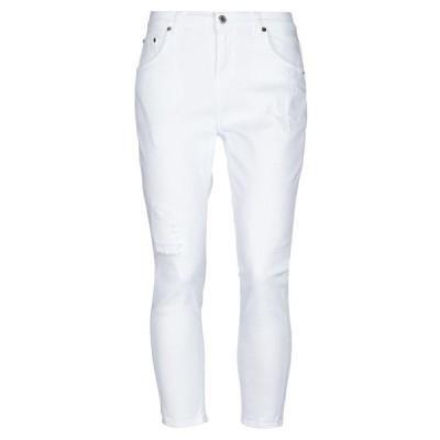 AGLINI ジーンズ  レディースファッション  ボトムス  ジーンズ、デニム ホワイト
