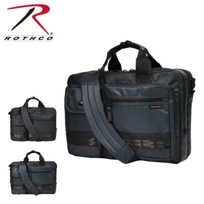 ロスコ ビジネスバッグ 3WAY A3 レッドライン メンズ 45004 ROTHCO | ブリーフケース ビジネスリュック 撥水 大容量 拡張
