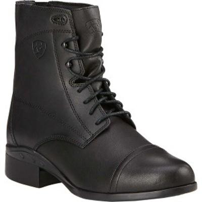 アリアト レディース ブーツ&レインブーツ シューズ Scout Paddock Boot Black Full Grain Leather