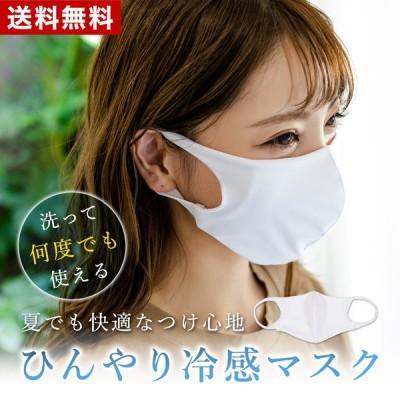 冷感マスク 在庫あり 冷感 大人用 マスク 洗える 何度も使える ひんやり 水着マスク 夏 立体マスク 500016