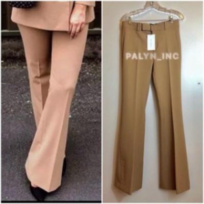 ファッション パンツ NWT ZARA SS19 AW18 CAMEL FLARED PANTS TROUSERS 8048/703 2592/703_XS S M L XL
