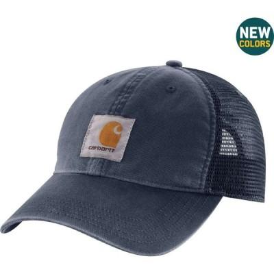カーハート Carhartt メンズ 帽子 Buffalo Mesh Back Hat Navy