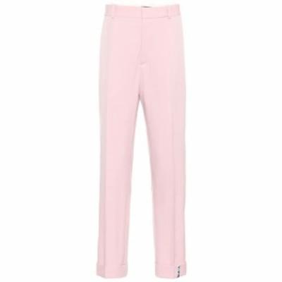 ワイプロジェクト Y/PROJECT レディース ボトムス・パンツ Stretch wool mid-rise pants pink