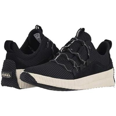 ソレル Out N About Plus Sneaker レディース スニーカー Black Mesh