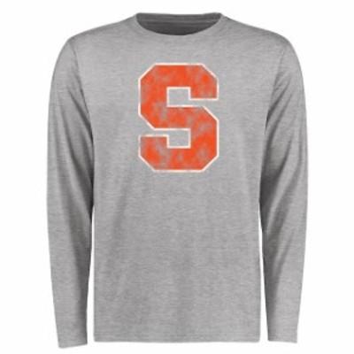 Fanatics Branded ファナティクス ブランド スポーツ用品  Syracuse Orange Ash Big & Tall Classic Primary Long Slee