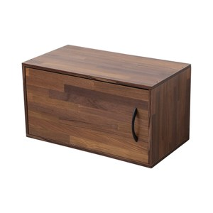 【澄境】單門收納櫃單門櫃 集成木紋