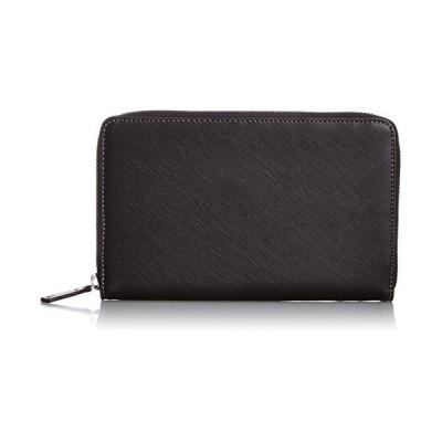 [エバウィン] 【日本製】バッグインバッグ シングル 本革 21544 ブラック