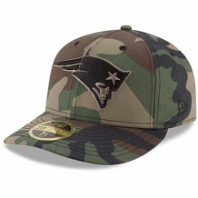 New Era ニュー エラ スポーツ用品  New Era New England Patriots Woodland Camo Low Profile 59FIFTY Fitted Hat