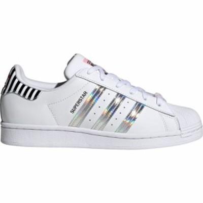 アディダス adidas レディース スニーカー シューズ・靴 Originals Superstar Shoes White/Pink/Vivid Red