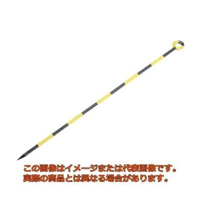 TRUSCO カラー異形ロープ止丸型 黄/黒 TRM1390I YB