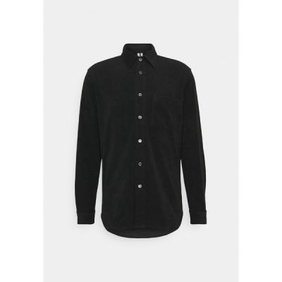 アーケット シャツ メンズ トップス Shirt - black