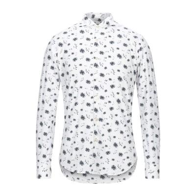 948 ARCHIVIO シャツ ホワイト 39 コットン 100% シャツ
