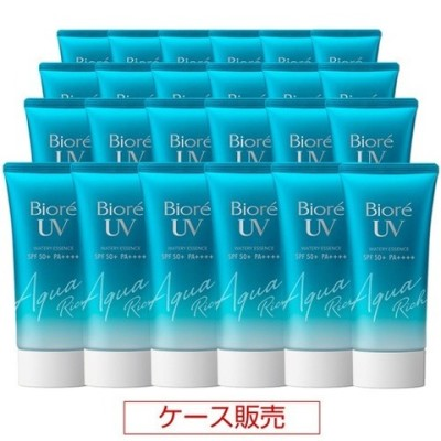 ビオレ UV アクアリッチ ウォータリーエッセンス (50g*24コセット)