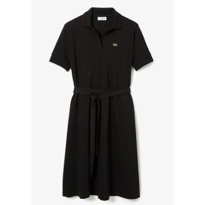 ラコステ ワンピース レディース トップス Jersey dress - noir