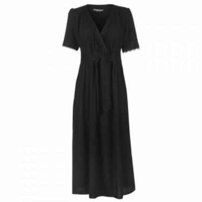 ファッションユニオン Fashion Union レディース ワンピース ワンピース・ドレス Fashion Soreya Short Sleeve Midi Dress BLACK