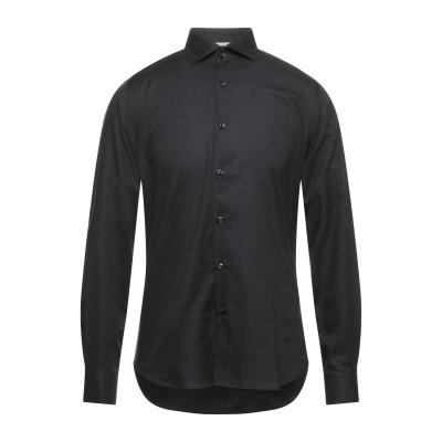 WEBB & SCOTT CO. シャツ ブラック 38 コットン 100% シャツ