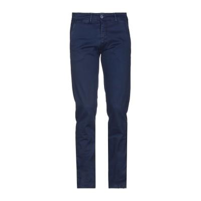 LIU •JO MAN パンツ ダークブルー 42 コットン 97% / ポリウレタン 3% パンツ