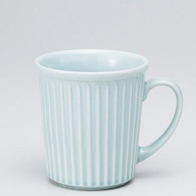 和食器 ブルーレリーフ マグカップ 小 カフェ コーヒー 紅茶 珈琲 お茶 オフィス おうち 食器 陶器 おしゃれ うつわ