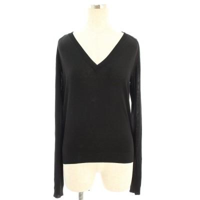 フォクシーニューヨーク collection ニット セーター 34227 Knit Tops チェック 長袖 38