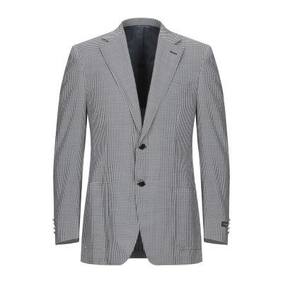 カナーリ CANALI テーラードジャケット ダークブルー 48 ウール 80% / シルク 19% / ポリウレタン 1% テーラードジャケット