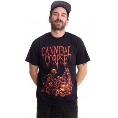 インペリコン Impericon メンズ Tシャツ トップス - Pile Of Skulls - T-Shirt black