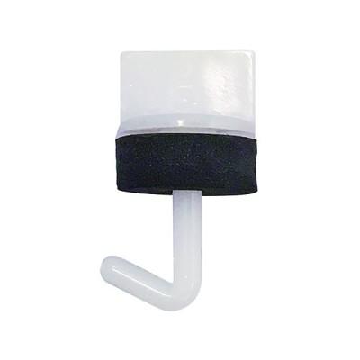 DAIDO HANT ワンタッチプラフック 袋 白/長さ:25mm